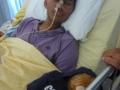 2012 - Before - 21yo Hindu Ashal dying of a Brain Tumor