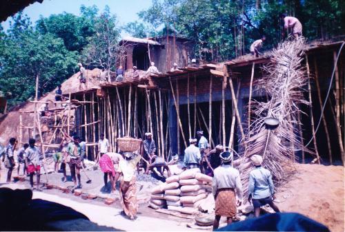 Building Kerala India Orphanage built